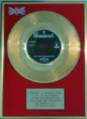 BRENDA LEE -  7inch  24 Carat Gold  Disc  - LET'S JUMP THE BROOMSTICK